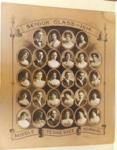 MTN Senior Class Portrait 1914