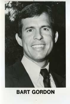 Representative Bart Gordon (D-TN, 1985-2011)