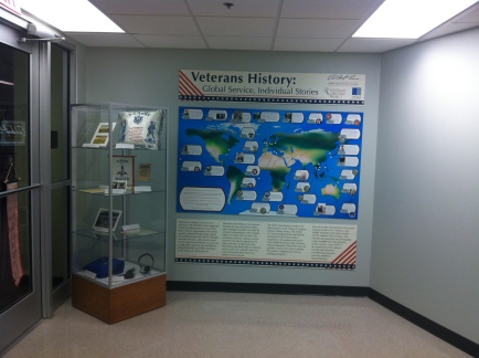 Veterans History: Global Service, Individual Stories Exhibit, Albert Gore Research Center