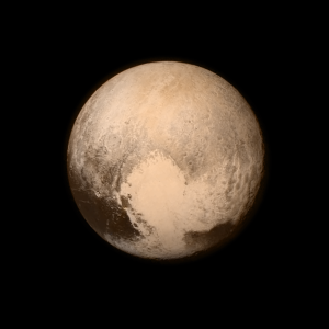 Latest image of Pluto, captured by New Horizons' Long Range Reconnaissance Imager on July 13, 2015. Courtesy of Nasa.gov