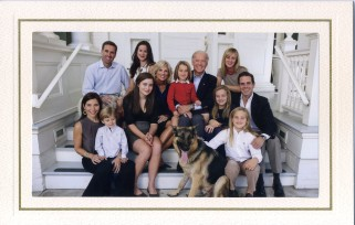 Vice President Joe Biden and family