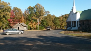 Reconstructed and Current Shiloh Church