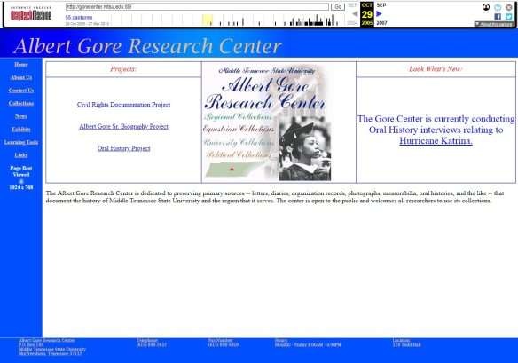 Wayback Machine Sideline Photo Fun When >> Albert Gore Research Center Preserving Our Past Engaging Our